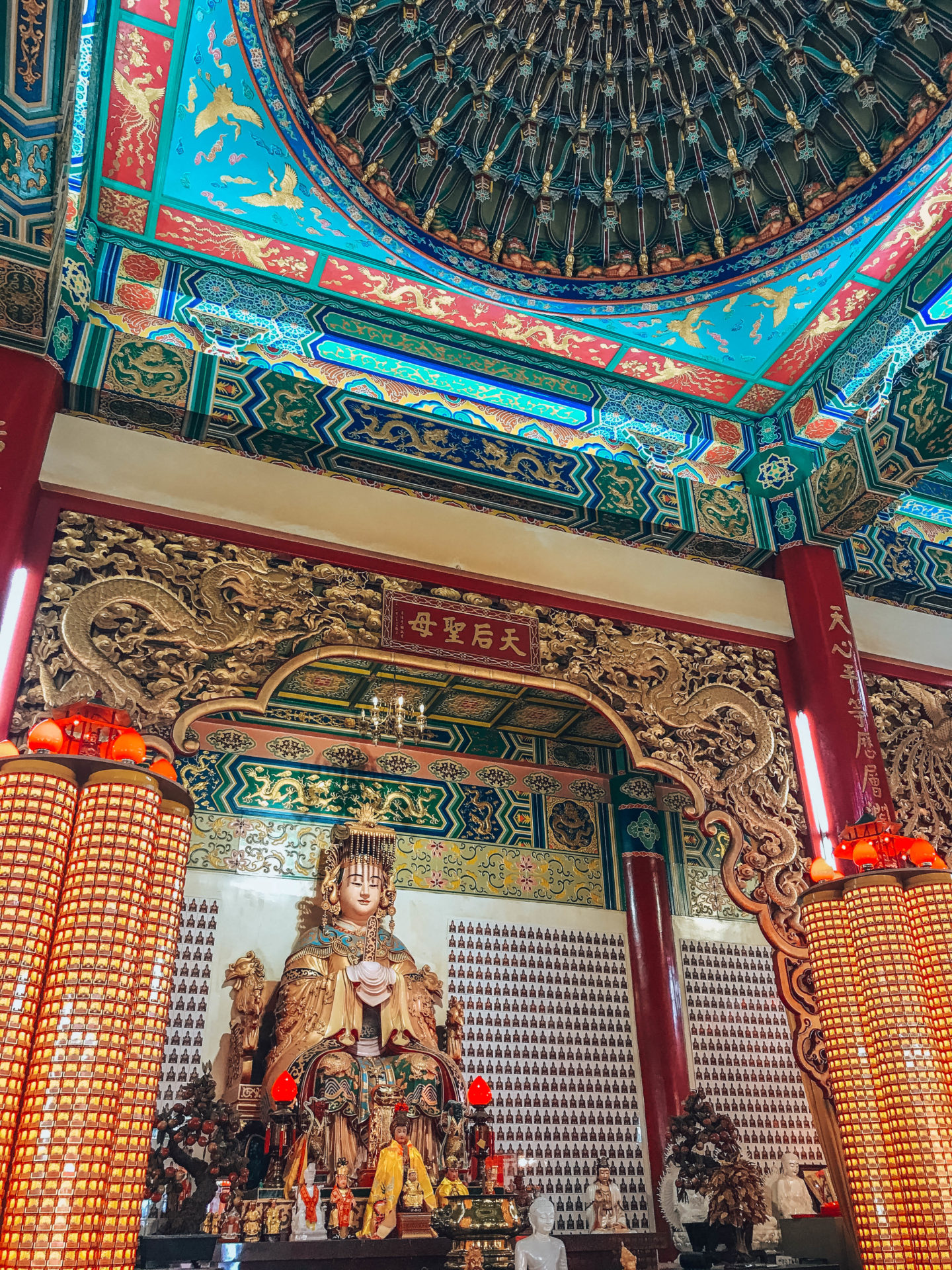 Buddhist temple of Thean Hou in KL