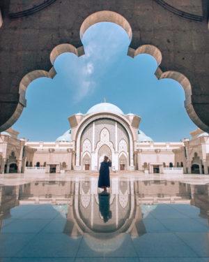 Visit the Blue Mosque of Kuala Lumpur