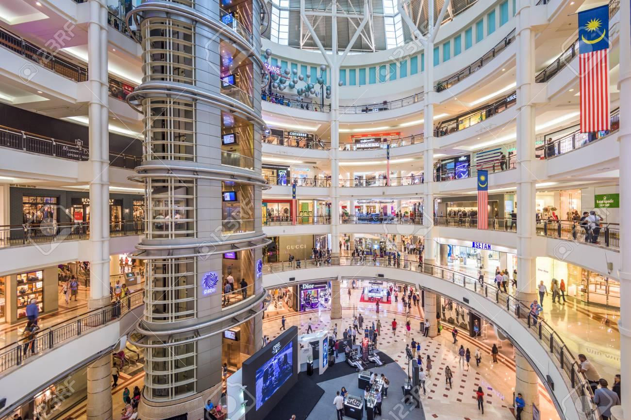 Suria KLCC mall in Kuala Lumpur