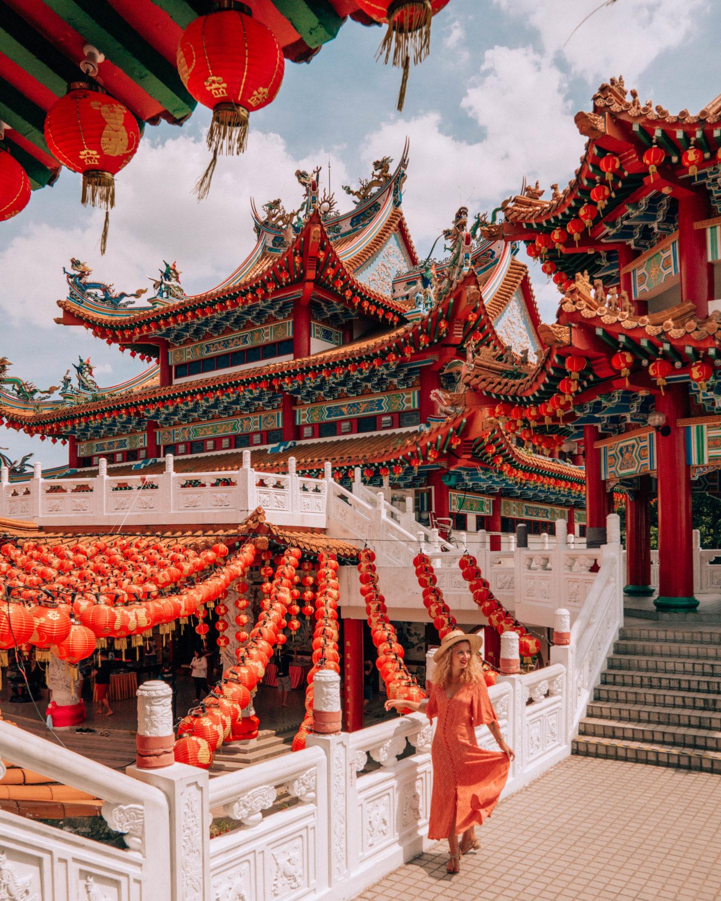 Buddhist temple of Thean Hou in Kuala Lumpur