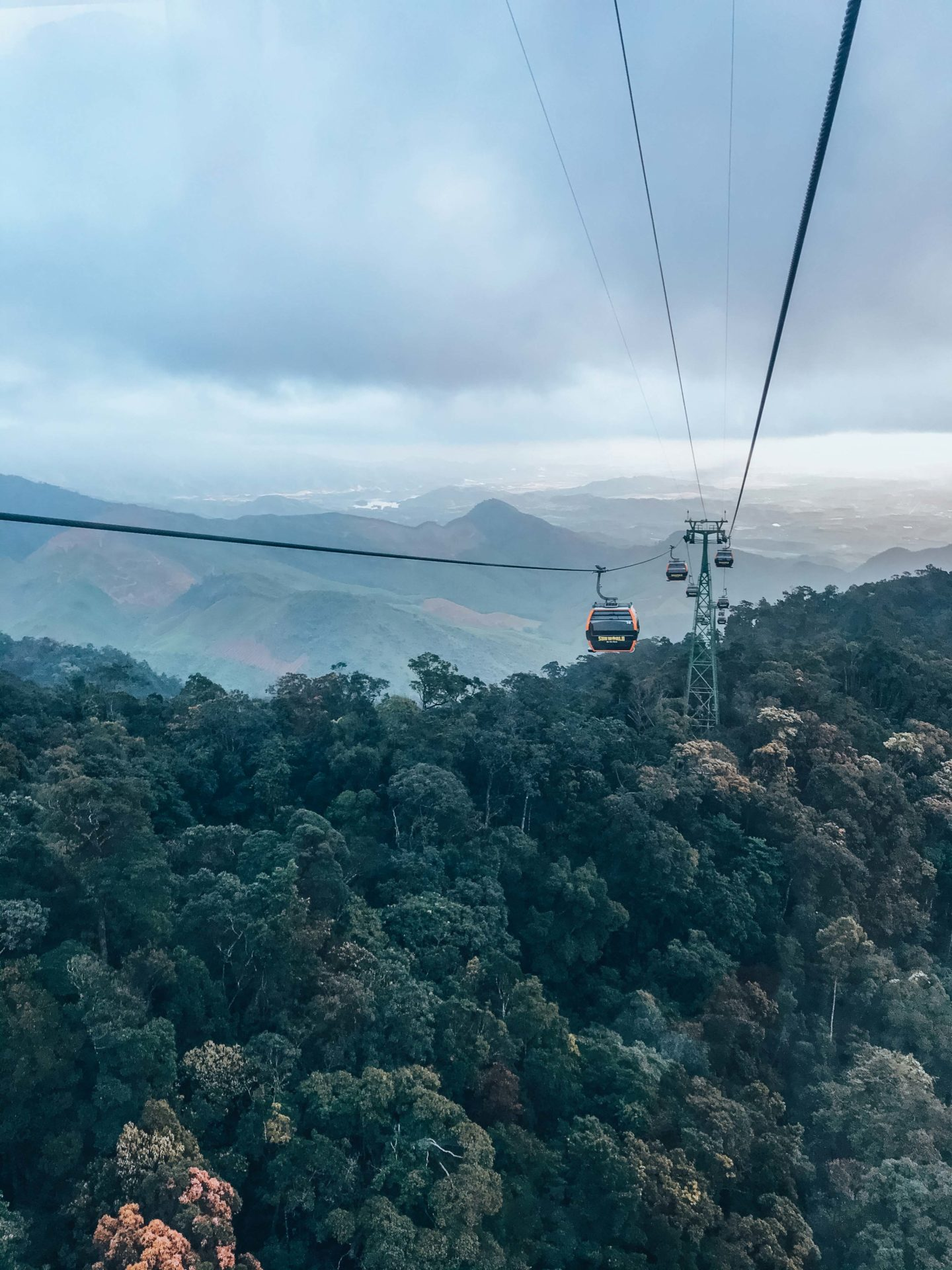 Ba Na Hills cable car, the longest in the world