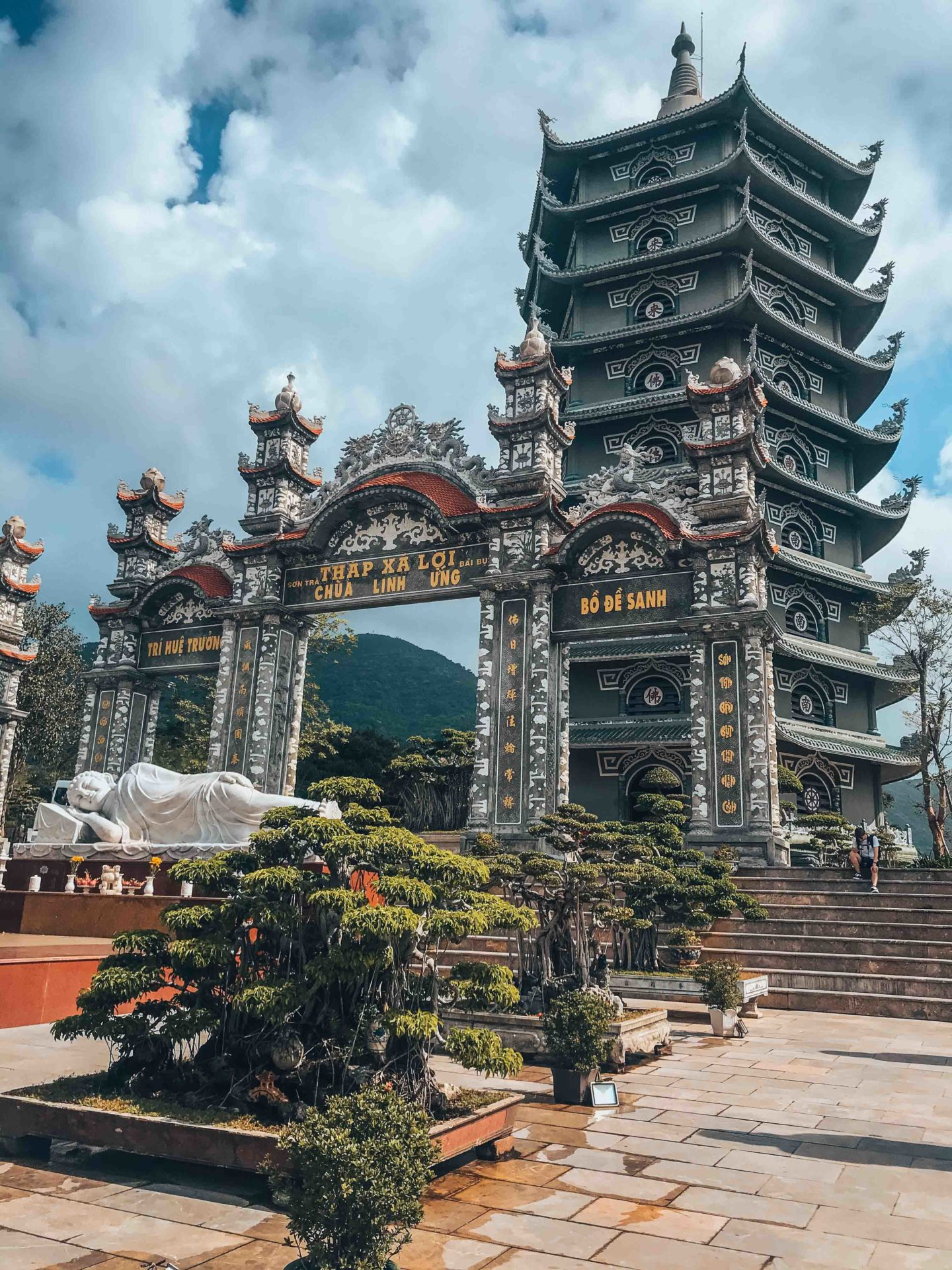 The Chua Linh Ung Pagoda in Da Nang