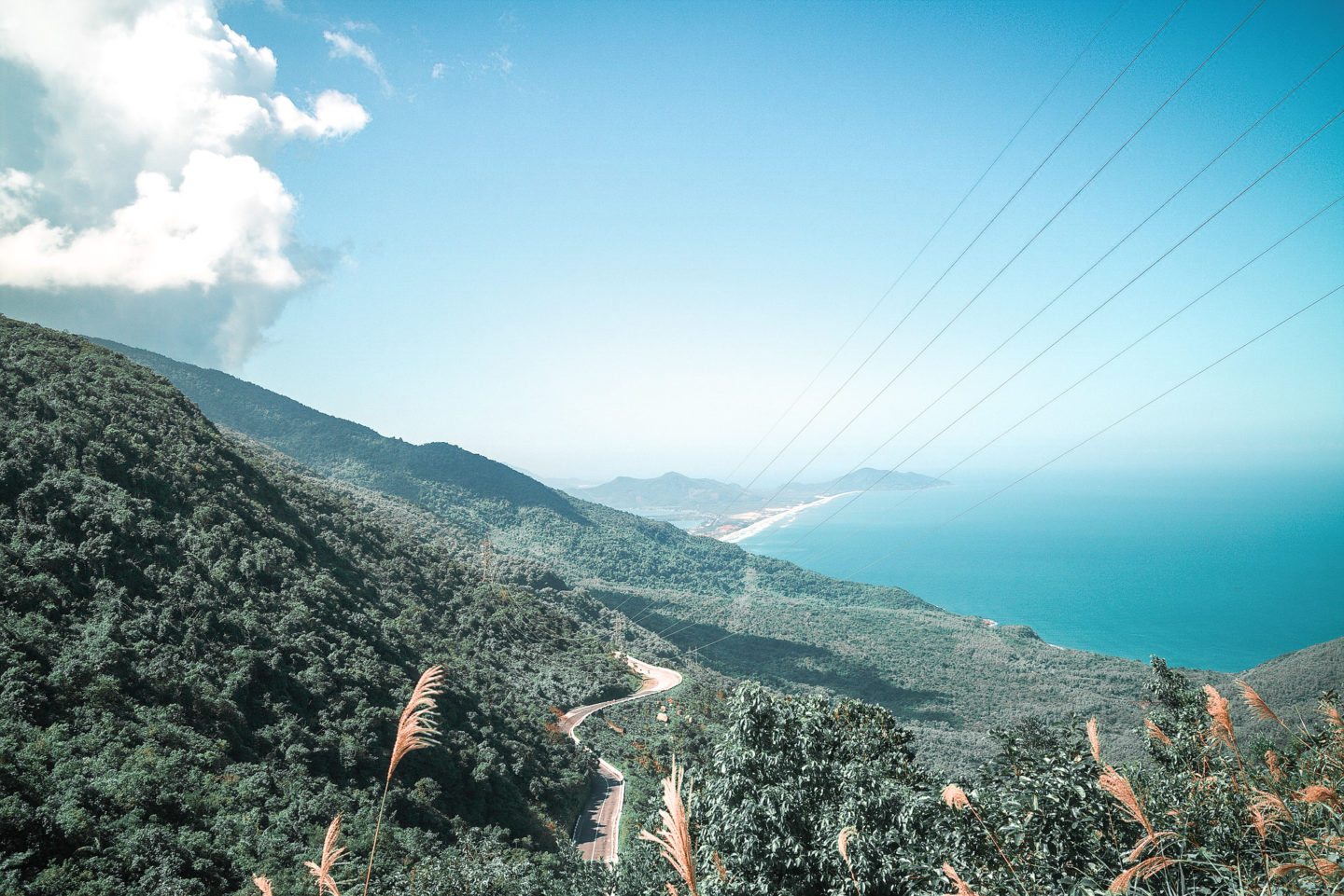 Hai Van Pass route in Da Nang