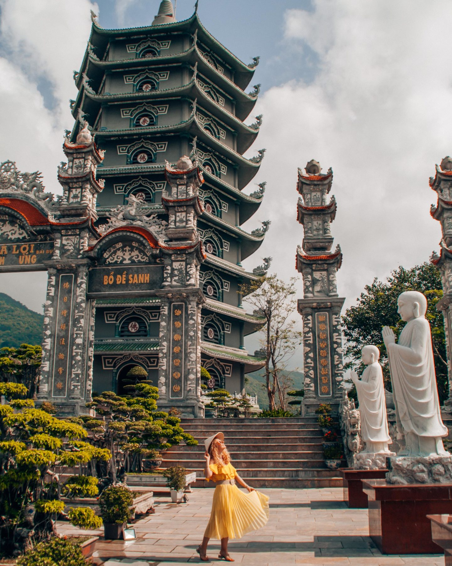 Visit Linh Ung Pagoda without crowds in Da Nang, Vietnam