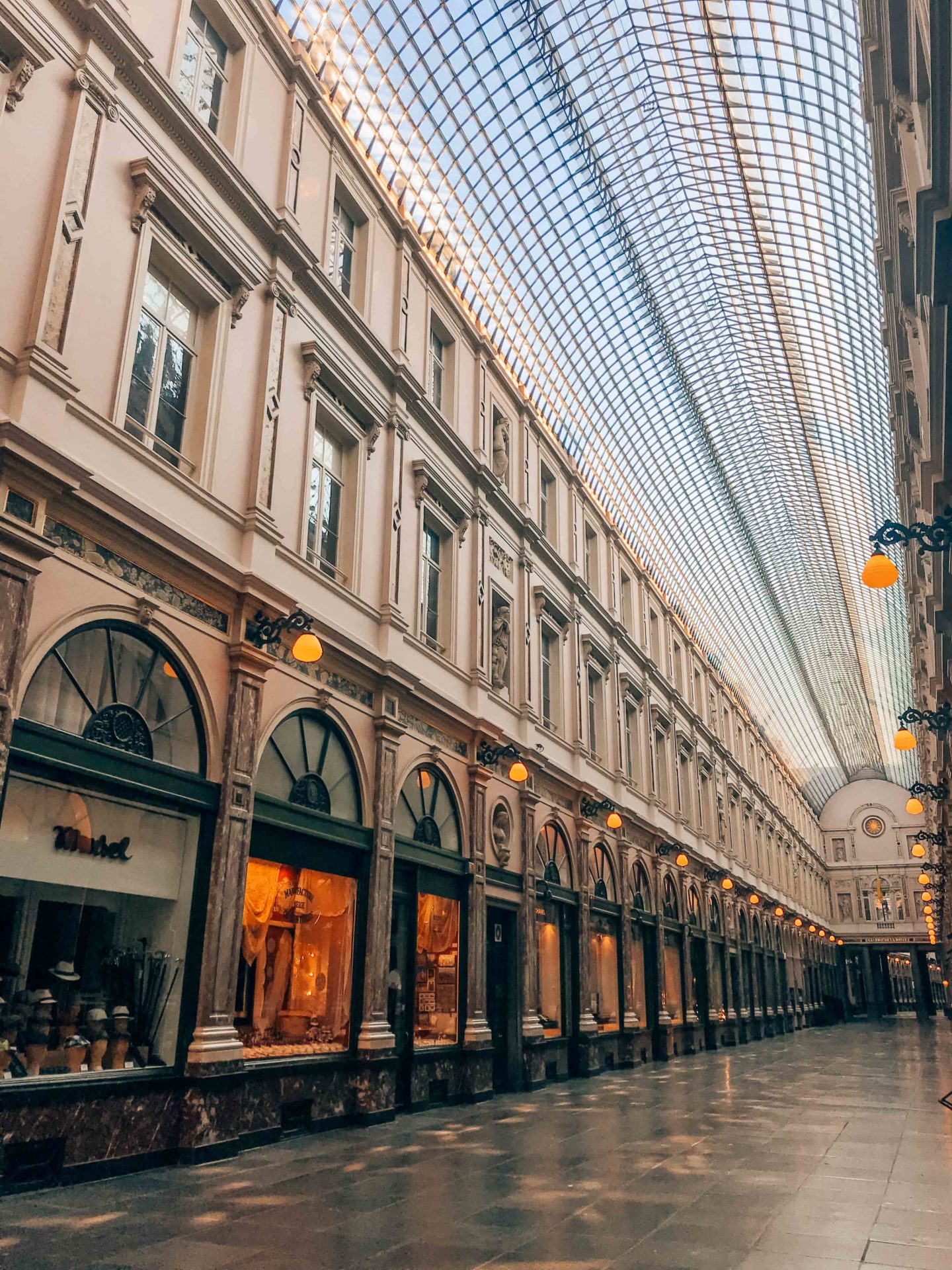 The Galeries Royales Saint Hubert, a must-see during 24h in Brussels