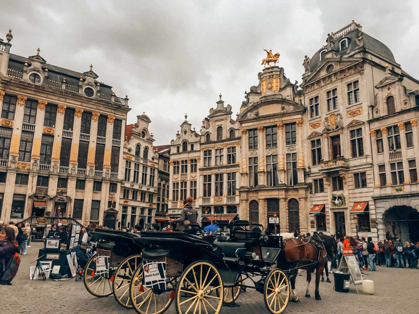 Itinerary in Brussels, start from the Grand Place
