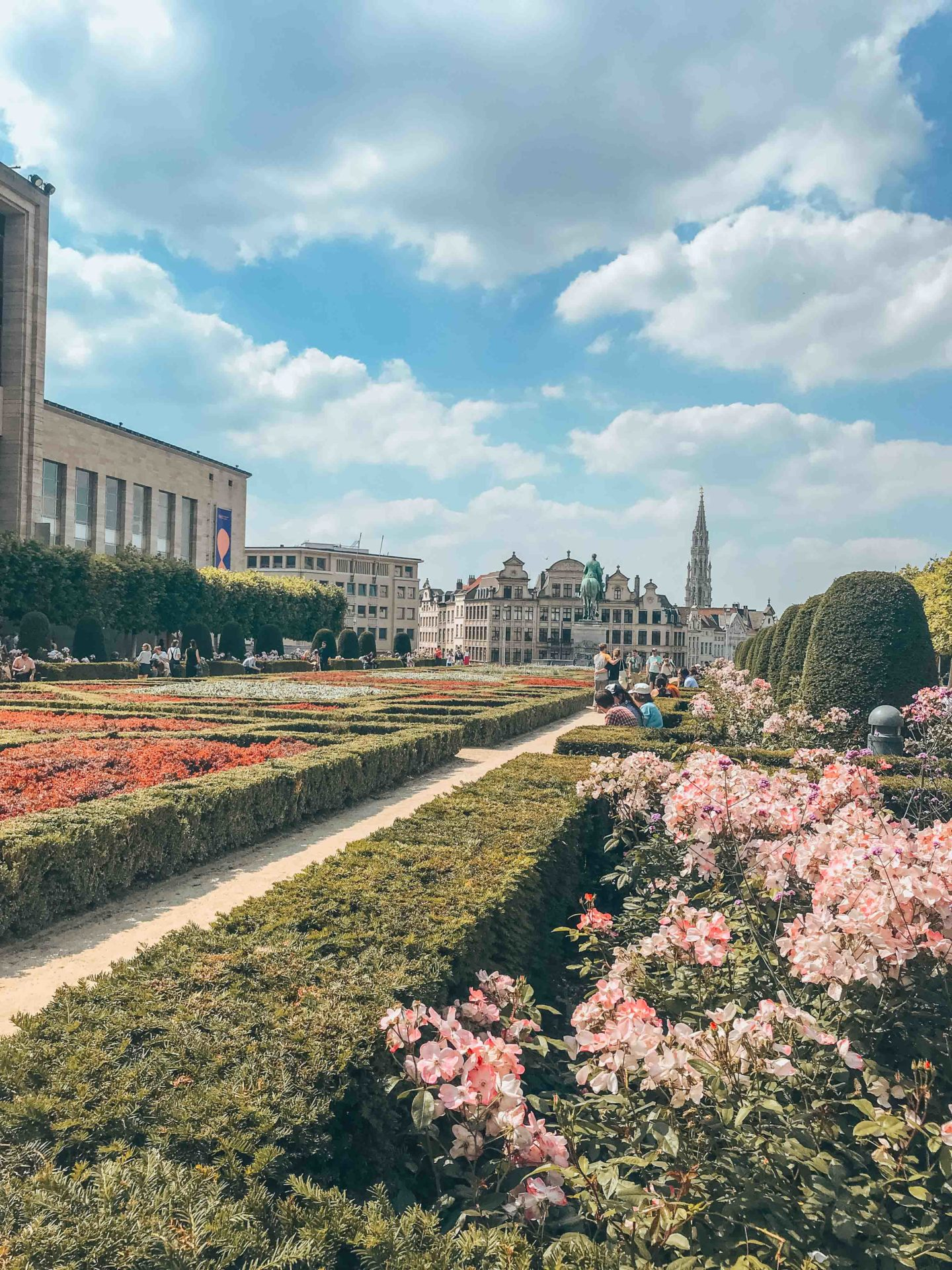 Mont des Arts, a must-see in Brussels