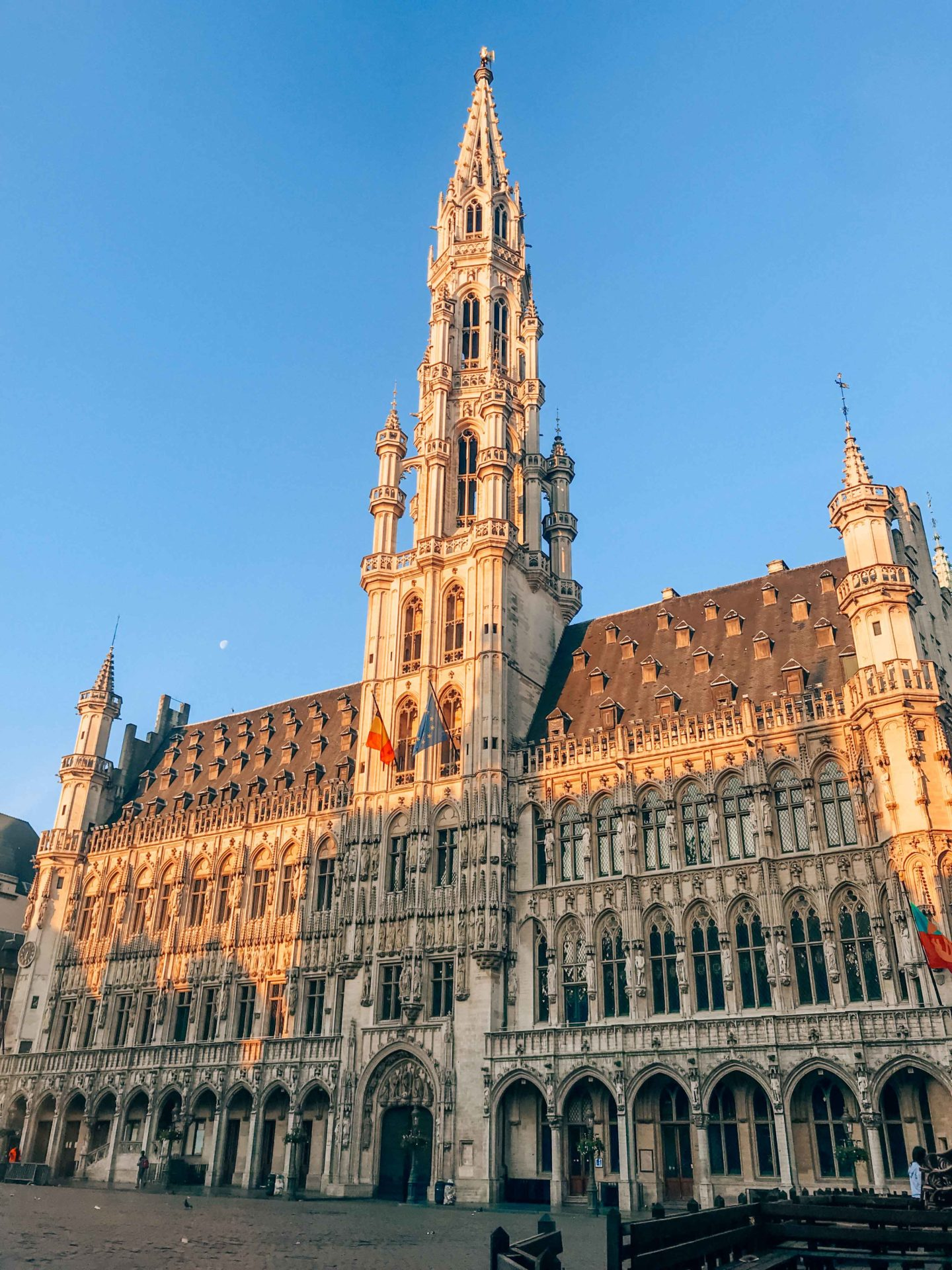 Town Hall of Brussels on the Grand Place