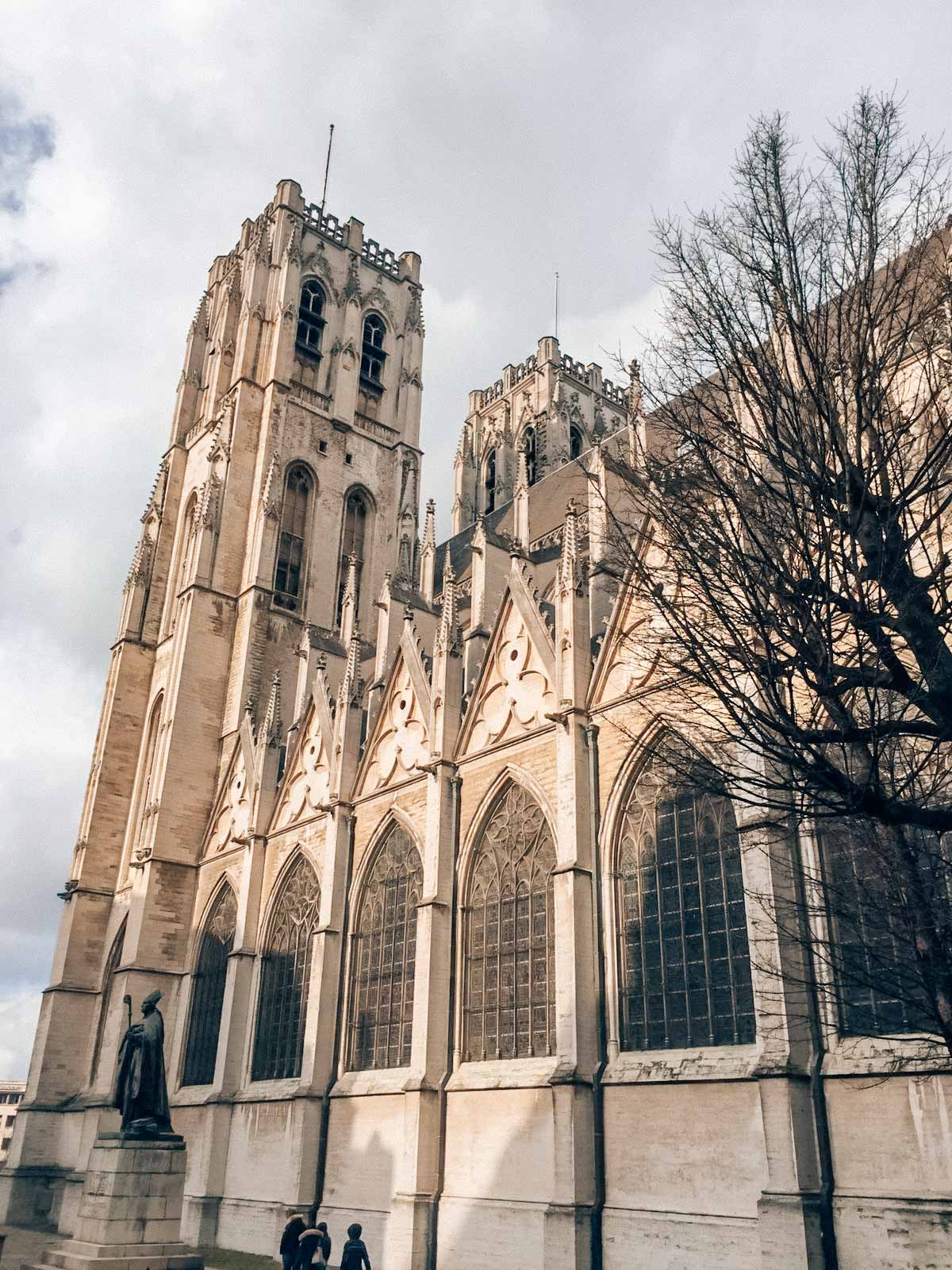 The cathederal of Brussels, a must-see