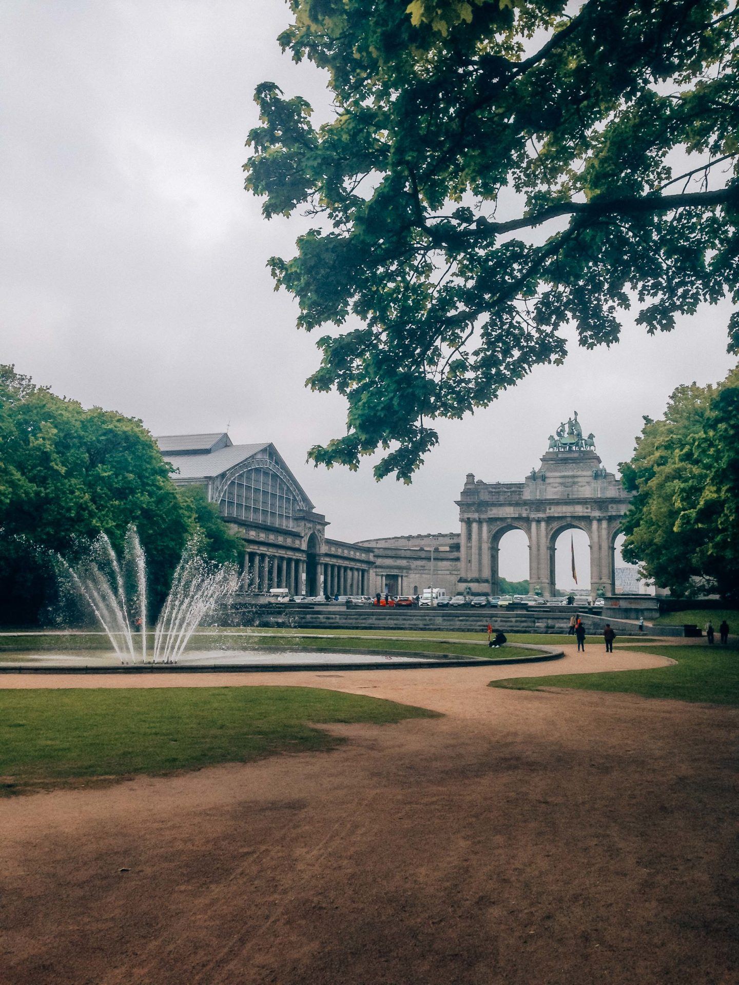 Visit the Cinquantenaire during your weekend in Brussels