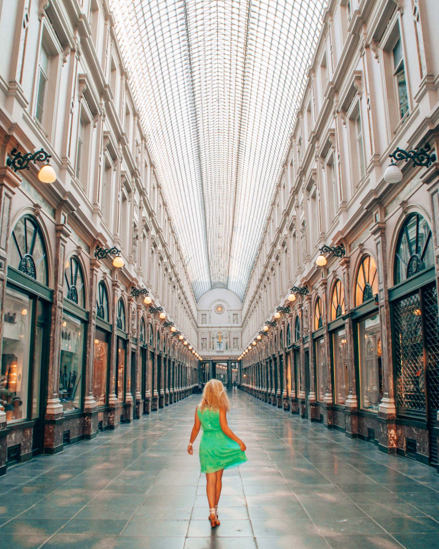 Follow me to Brussels in the Galeries Royales Saint Hubert