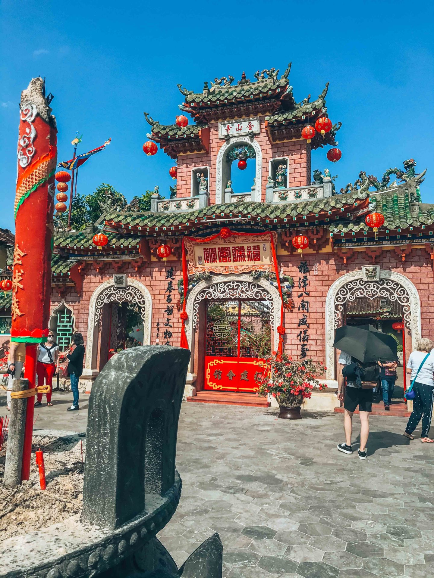 Fujian Chinese Assembly Hall gate, historical monument in Hoi An