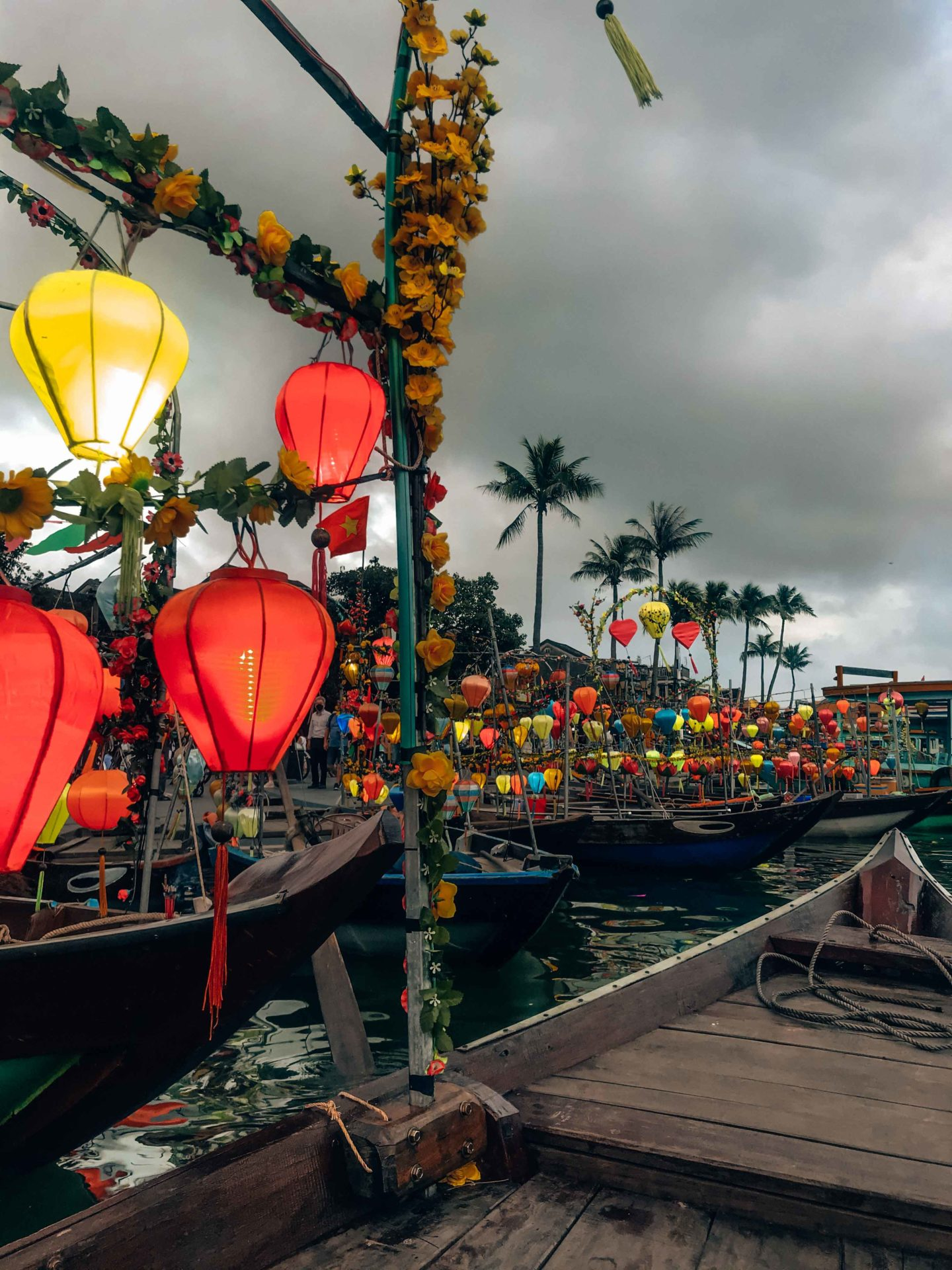 Magical Hoi An lanterns by night