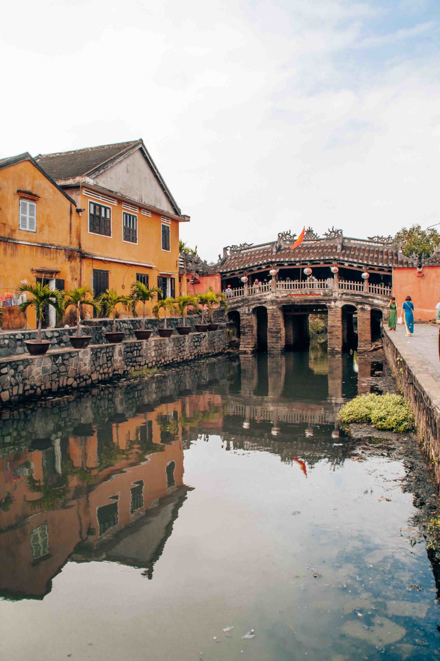 The Japanese covered bridge, symbol of Hoi An, Vietnam