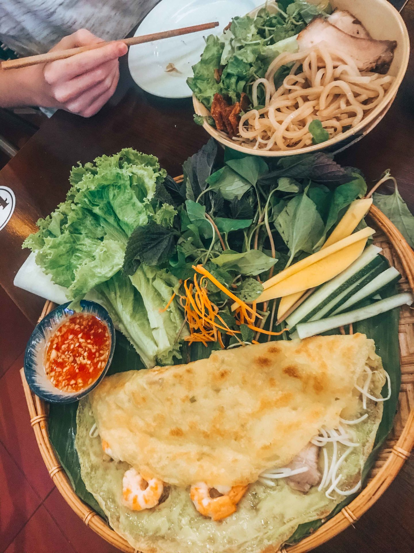 Local food specialties in Hoi An, Vietnam