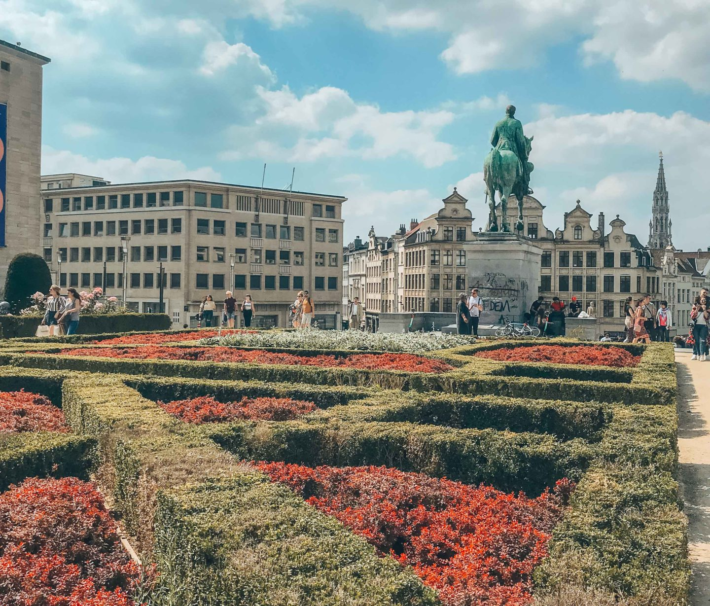 Must-see places in Brussels, the Mont des Arts