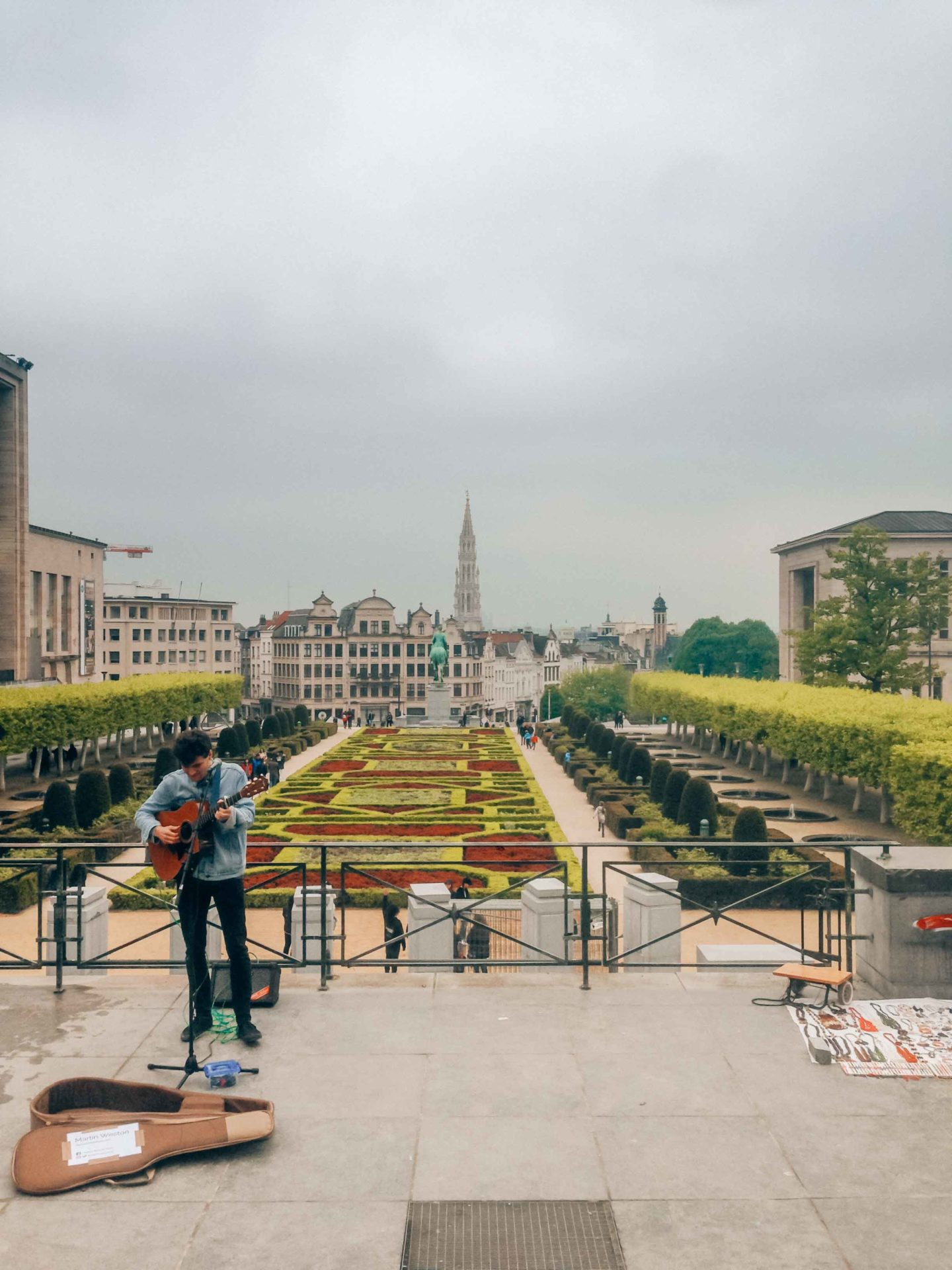 Brussels vibes in Mont des Arts