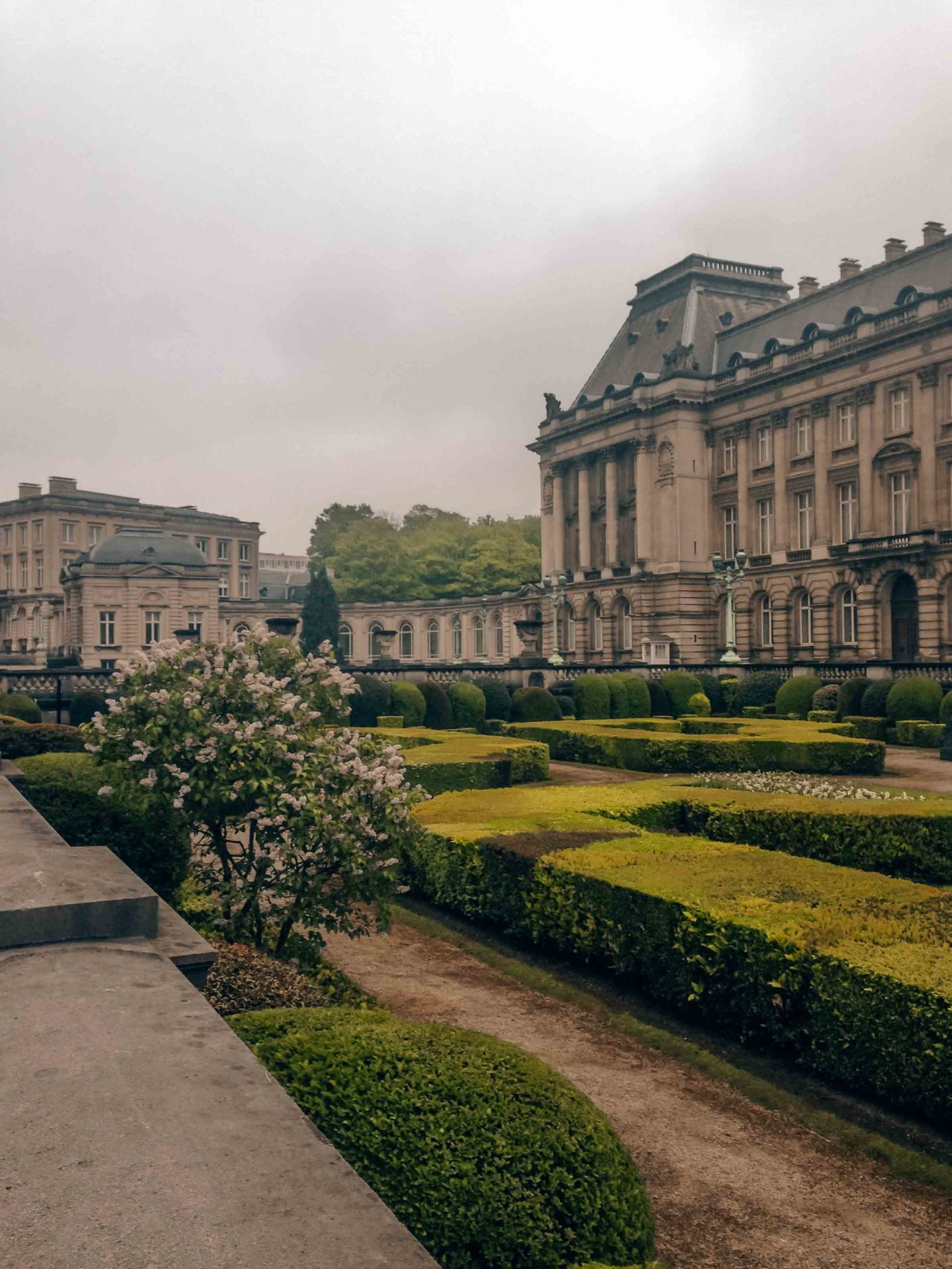 Royal Palace of Brussels, gardens