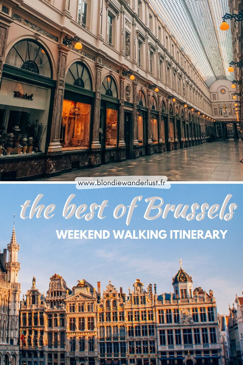 The best of Brussels by foot, weekend walking itinerary