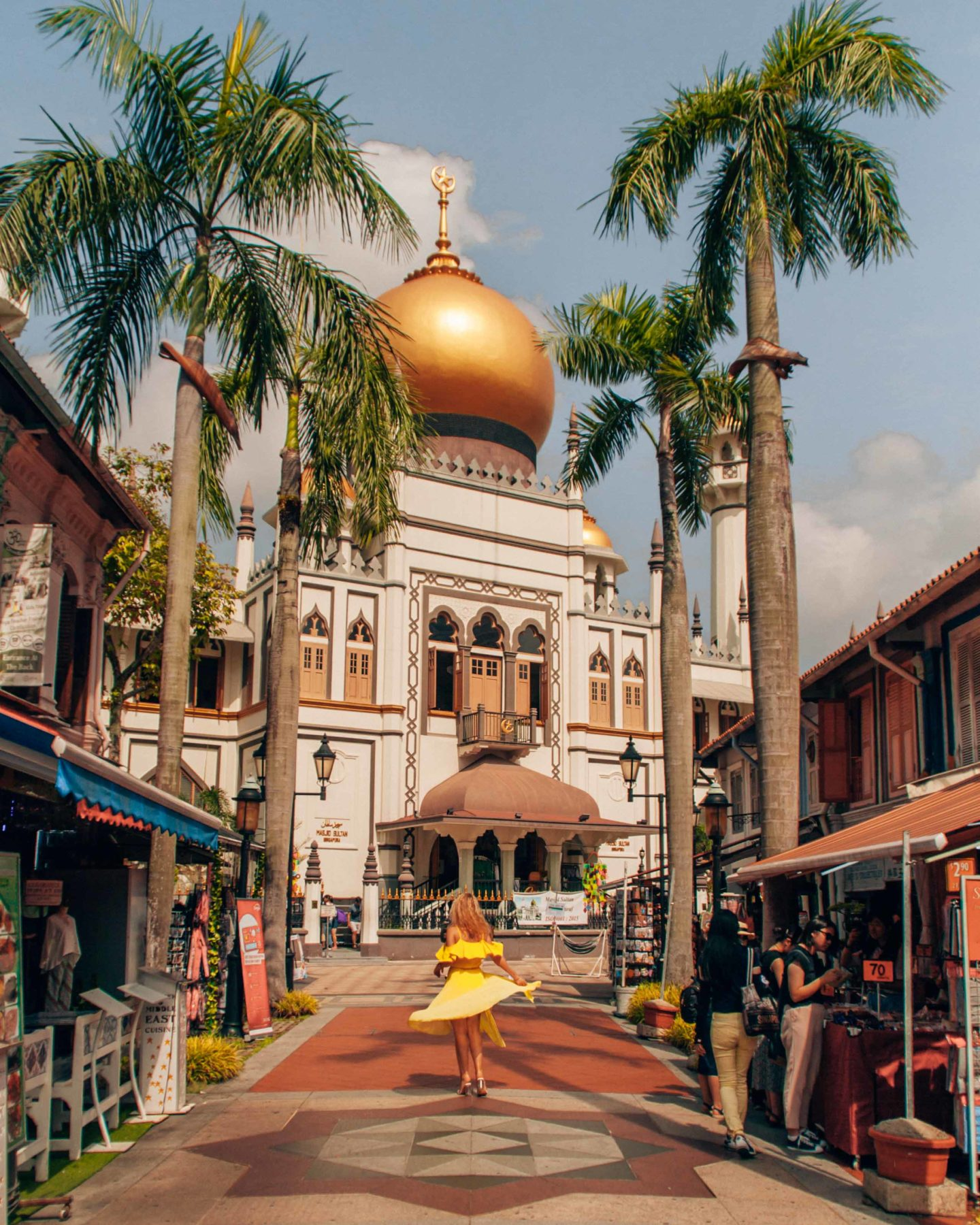 Arab street in Singapore, instagrammable spot in Singapore