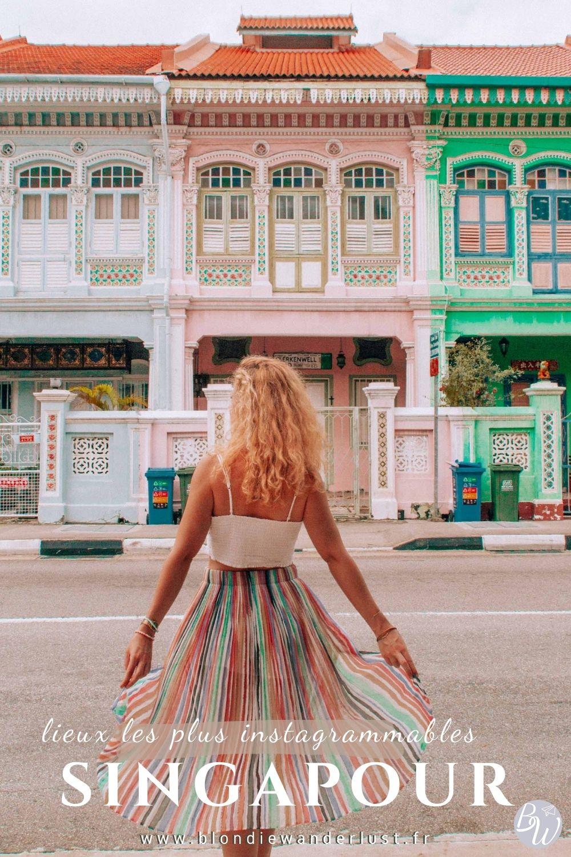Lieux les plus instagrammables à Singapour