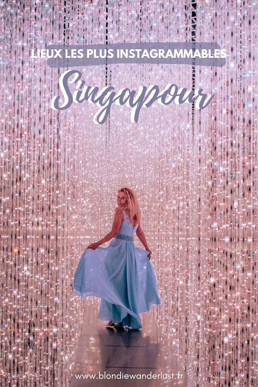 Spots les plus instagrammables Singapour