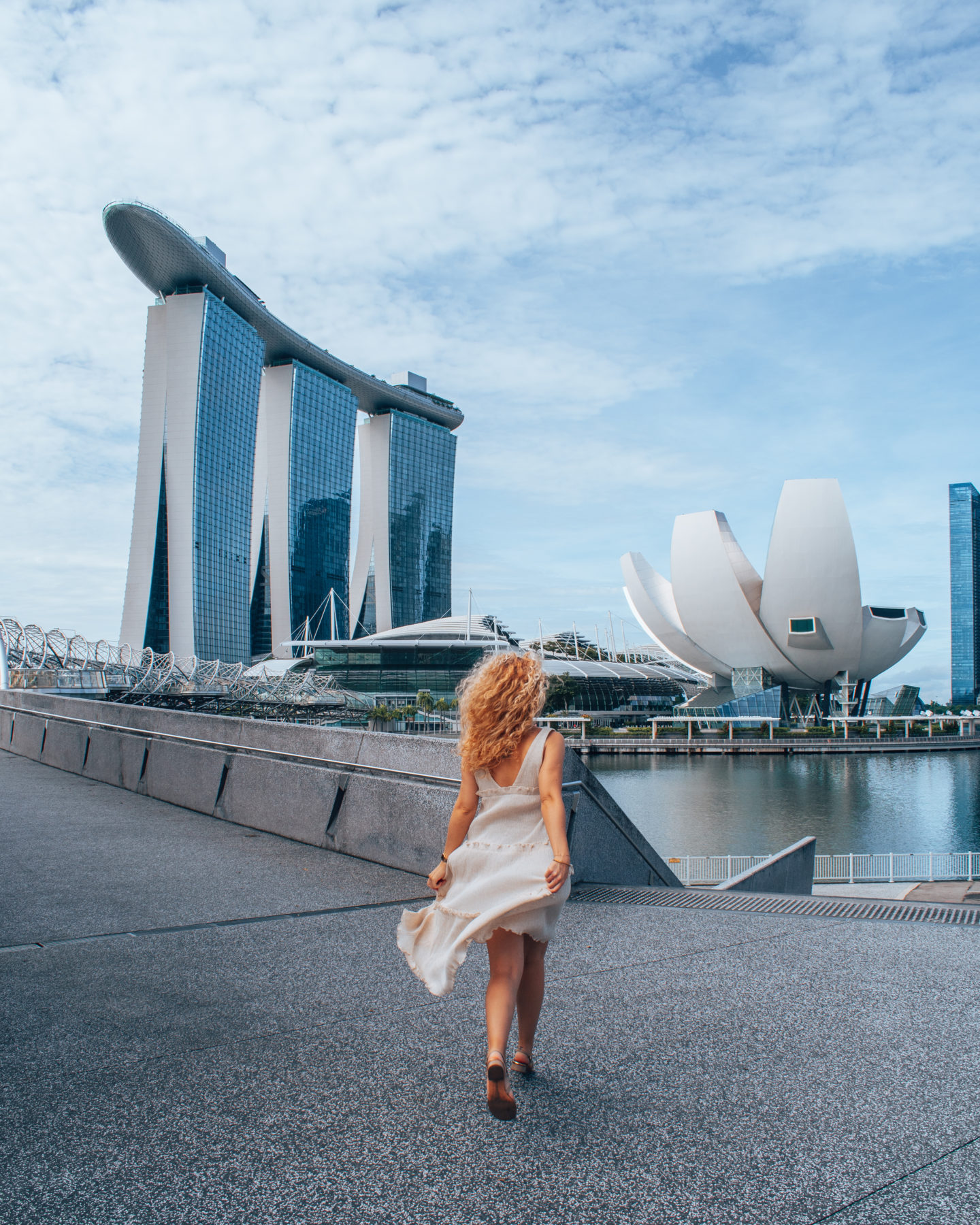 Marina Bay, instagrammable spot in Singapore