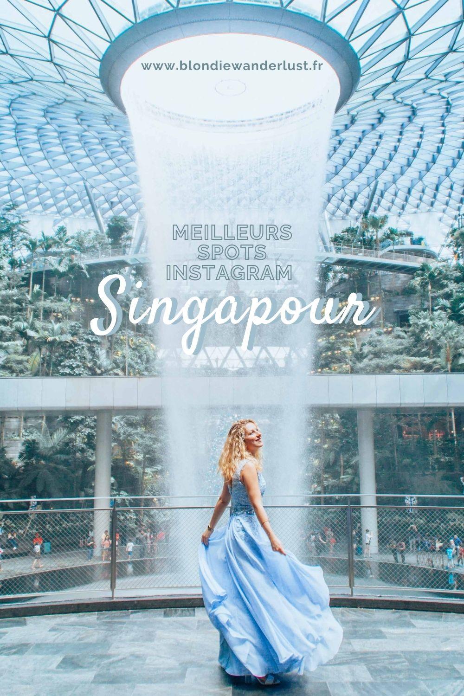 Meilleurs spots photos instagram Singapour