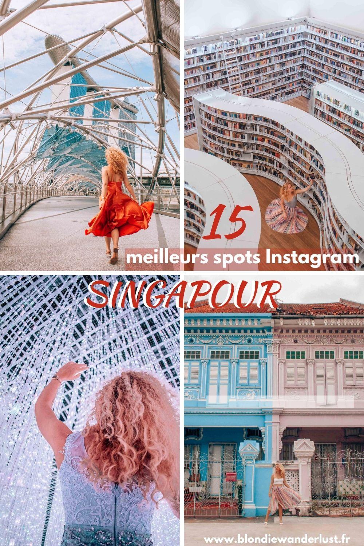 15 meilleurs spots Instagram Singapour