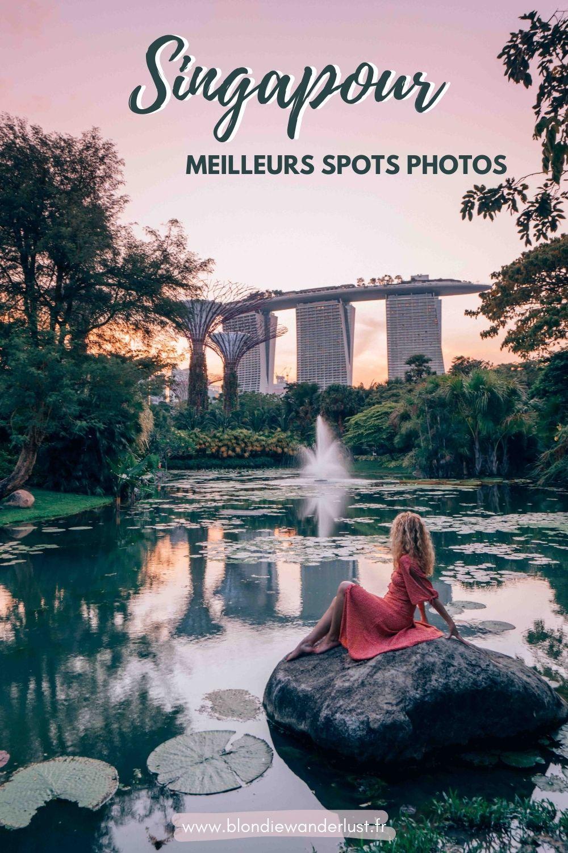 Meilleurs photos spots Singapour