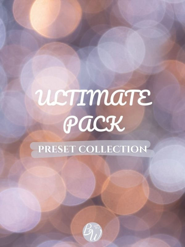Ultimate pack Lightroom presets collection