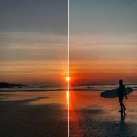 Warm sunset preset classic pack