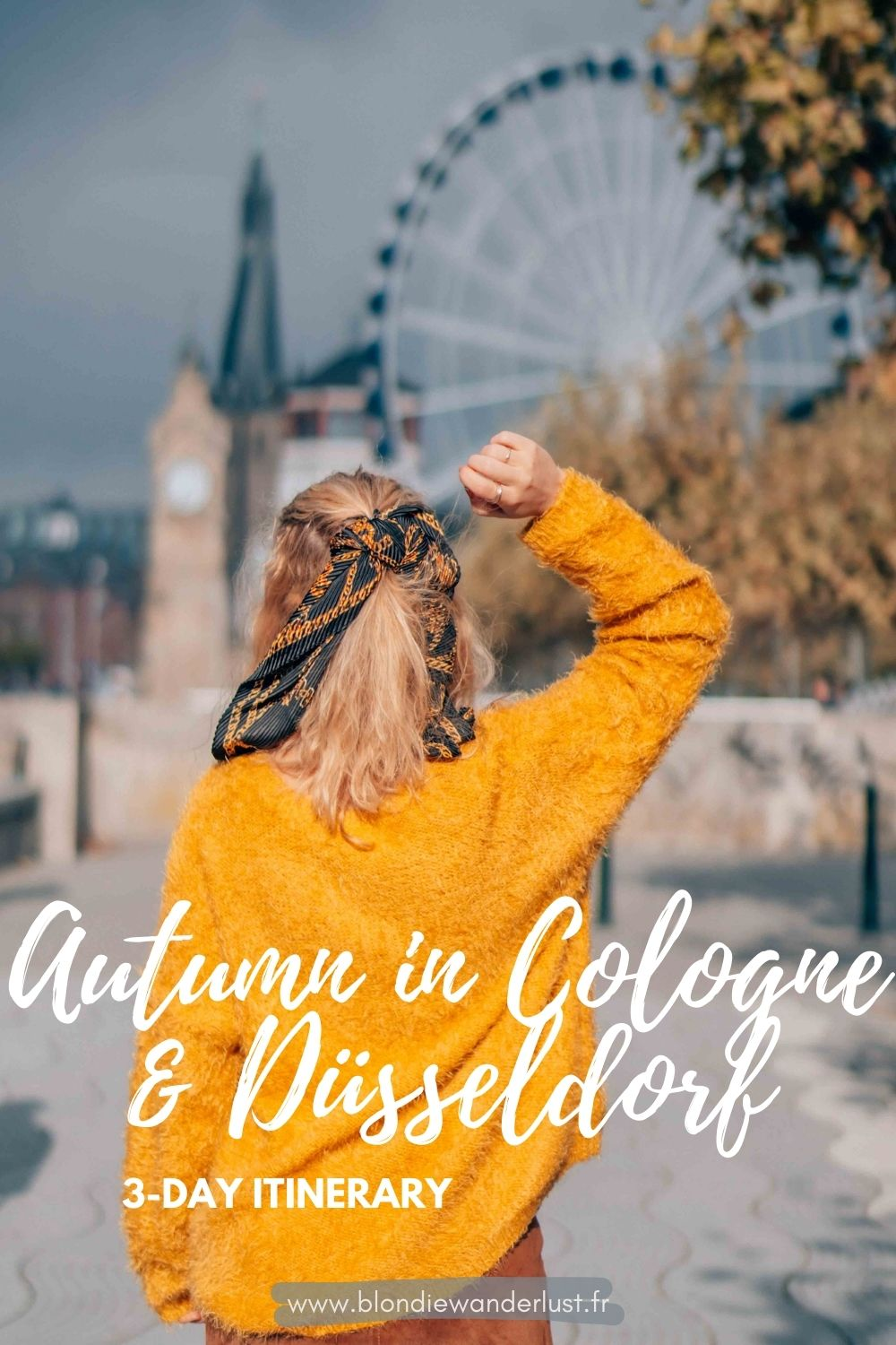 A 3-day itinerary to enjoy Autumn in Cologne & Düsseldorf