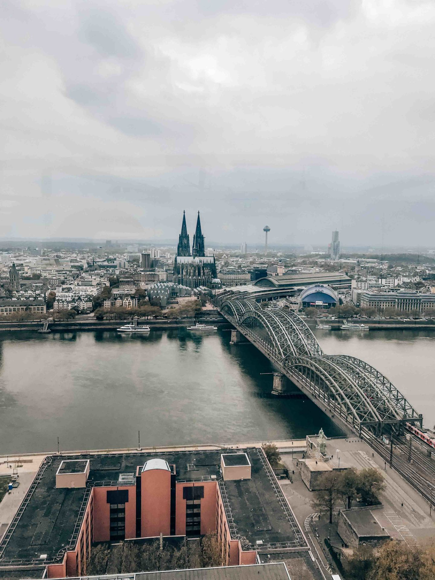 Best view of Cologne from the Triangle Turm
