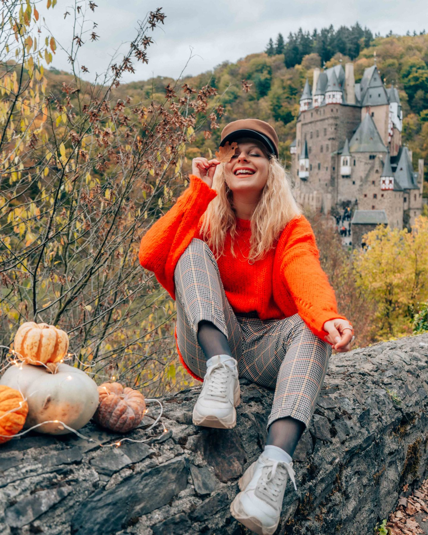 Autumn vibes at Burg Eltz castle
