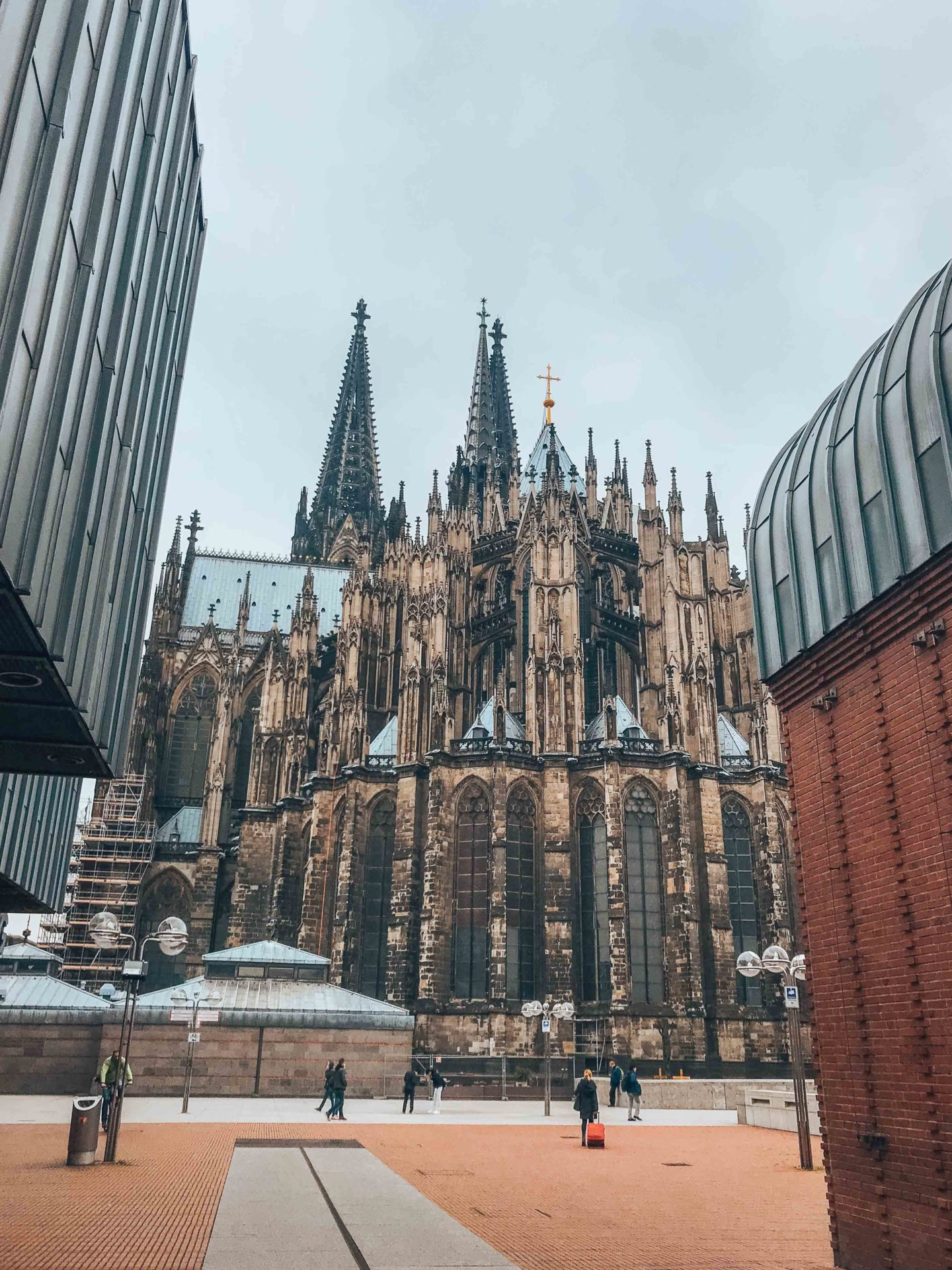 Cologne Cathedral from the outside