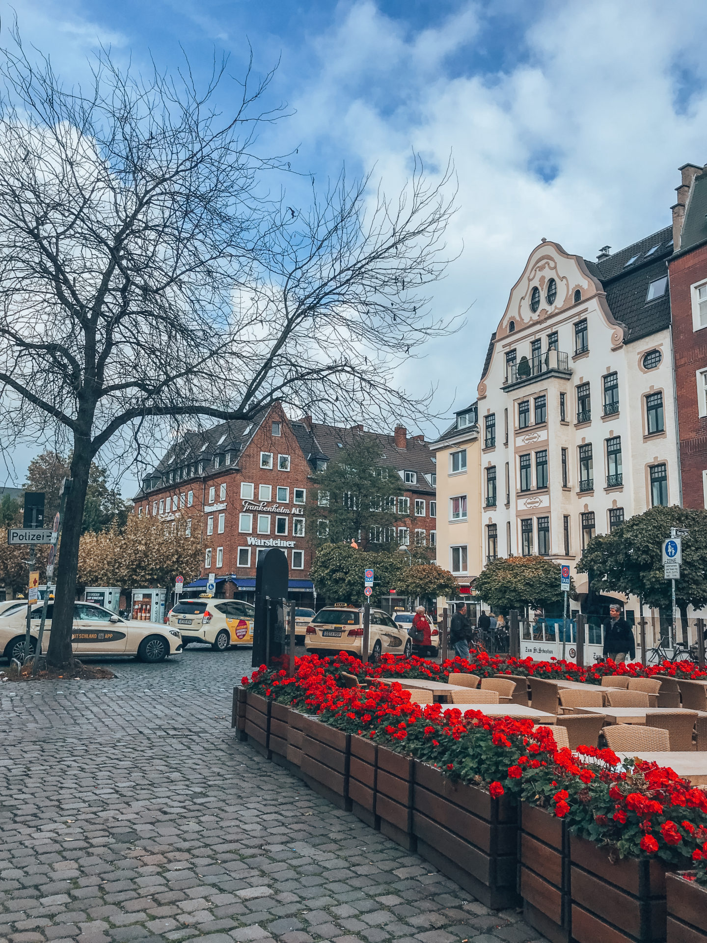 Near Burgplatz in Düsseldorf