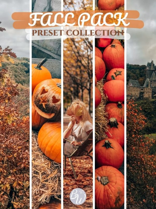 Fall Pack Lightroom presets collection