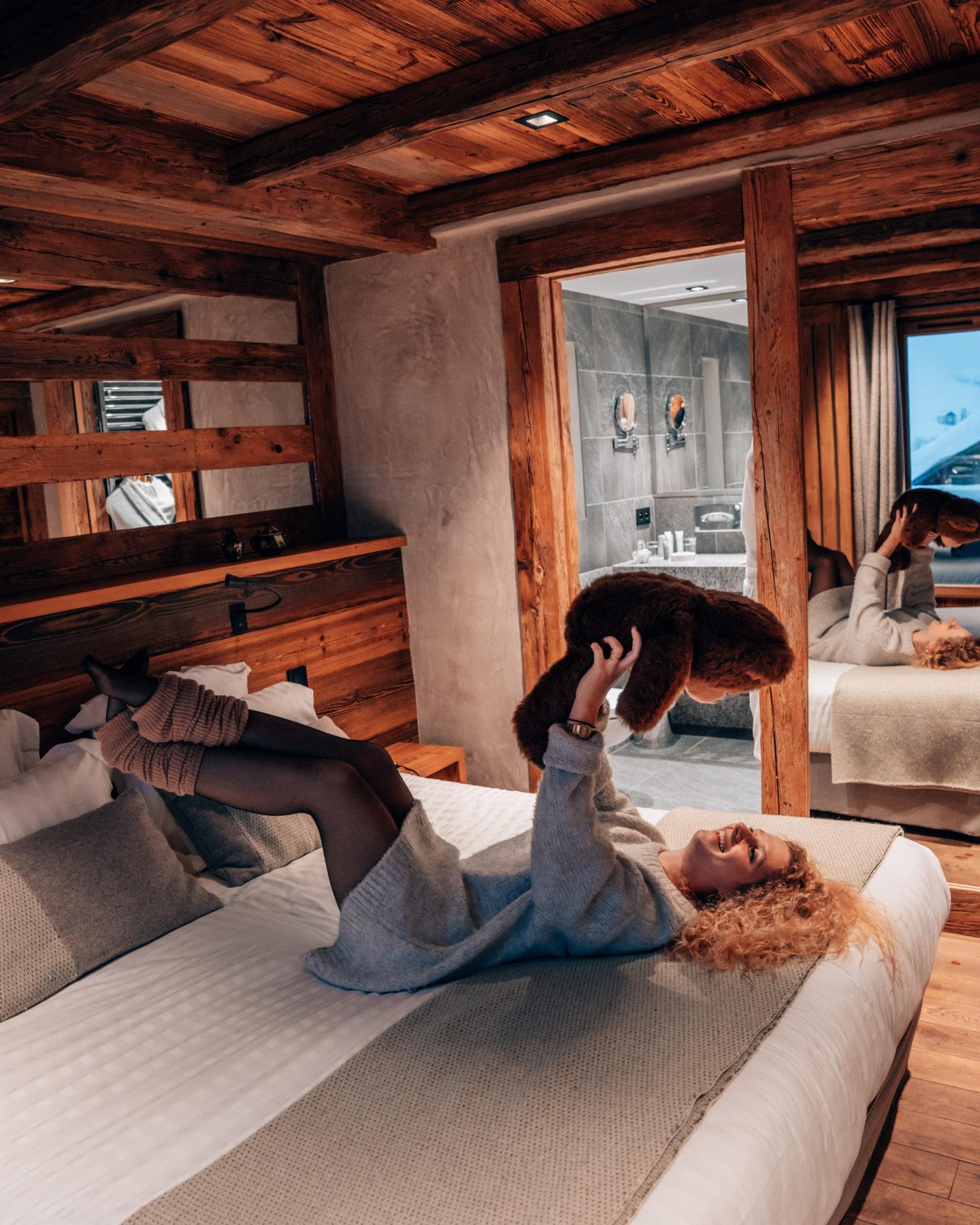 Cozy hotel room in Megeve