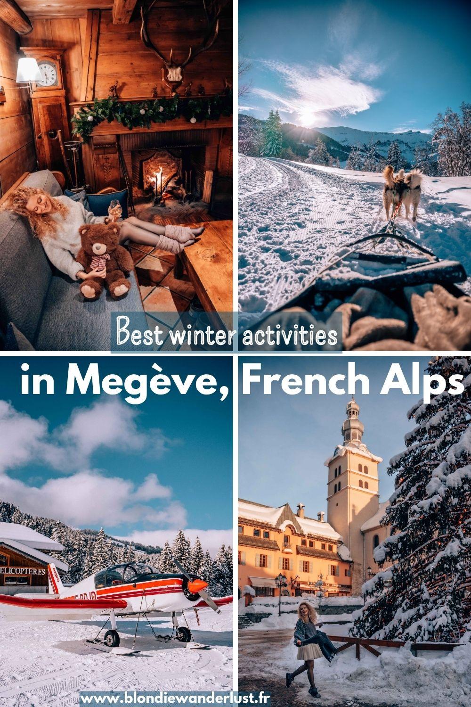 Best winter activities in Megeve, French Alps