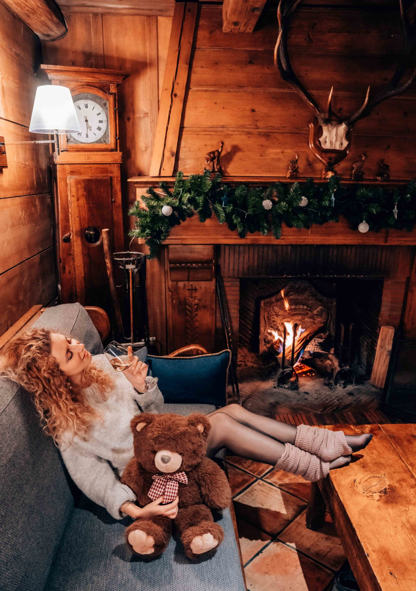 Cozy romantic date in Megeve