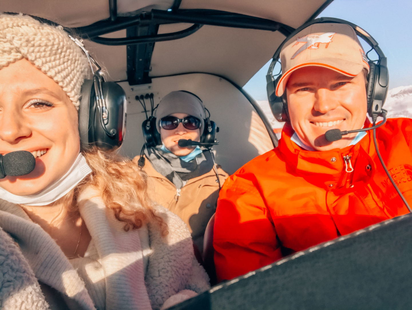 Souvenir from the flight with our pilot from Aérocime