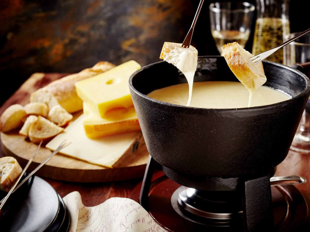 Eat some fondue in Megeve