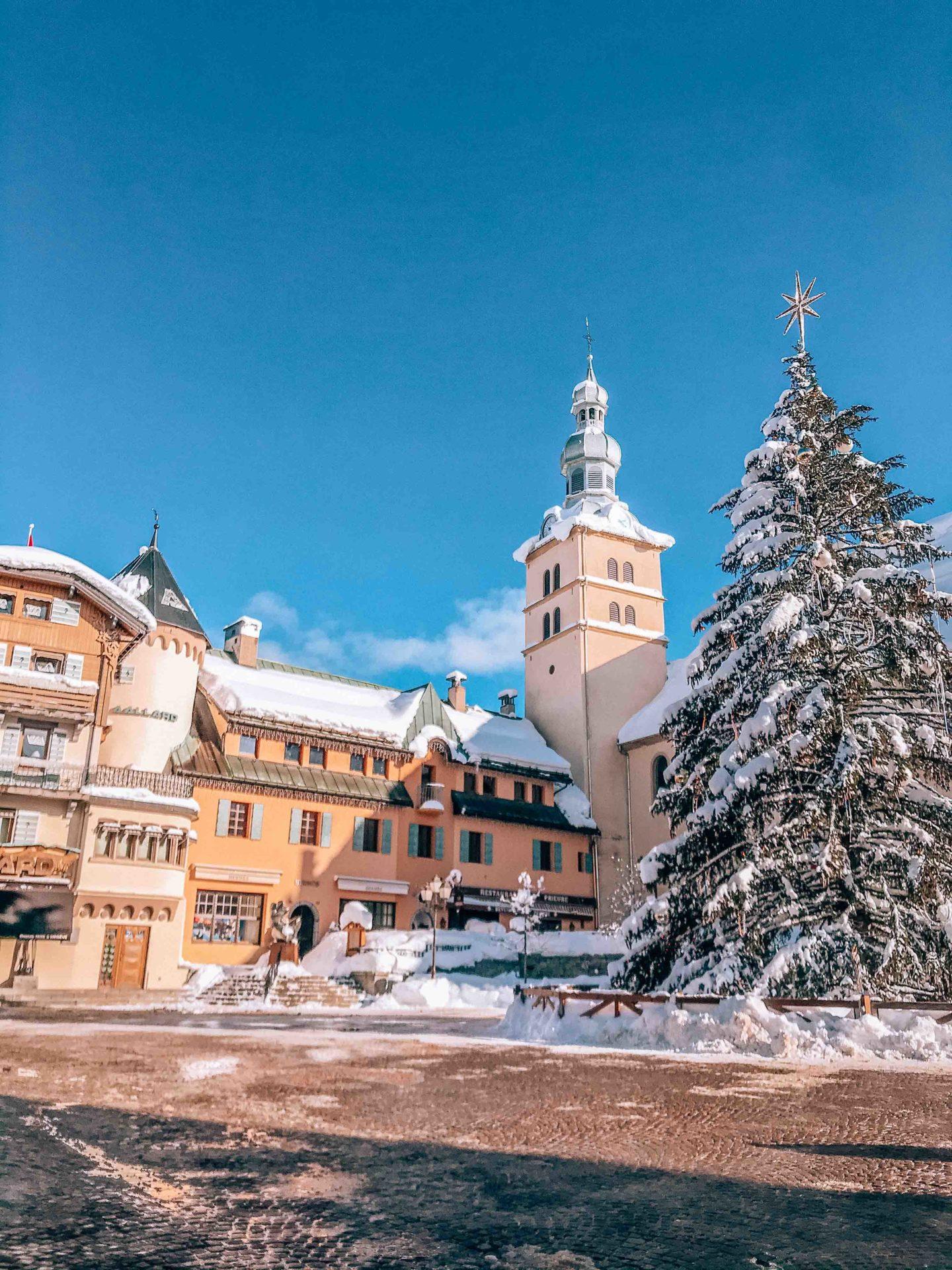 Megeve main square