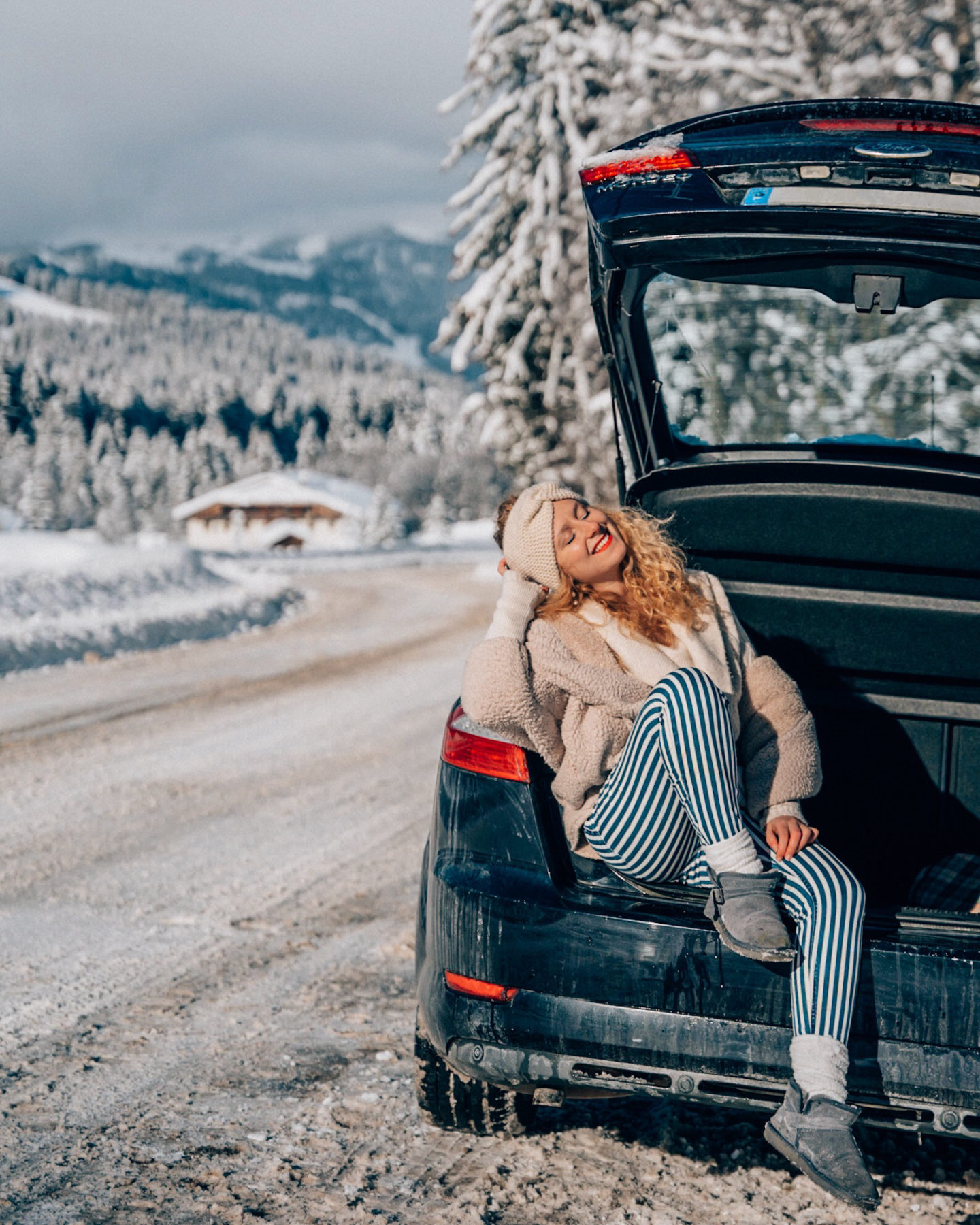 Road trip in the French Alps