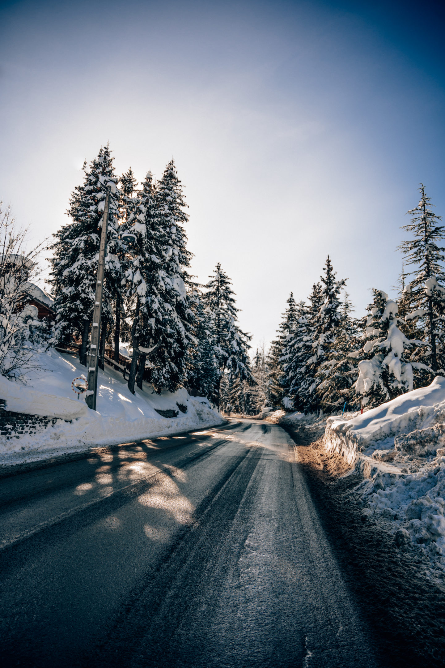 Road tripping in the French Alps