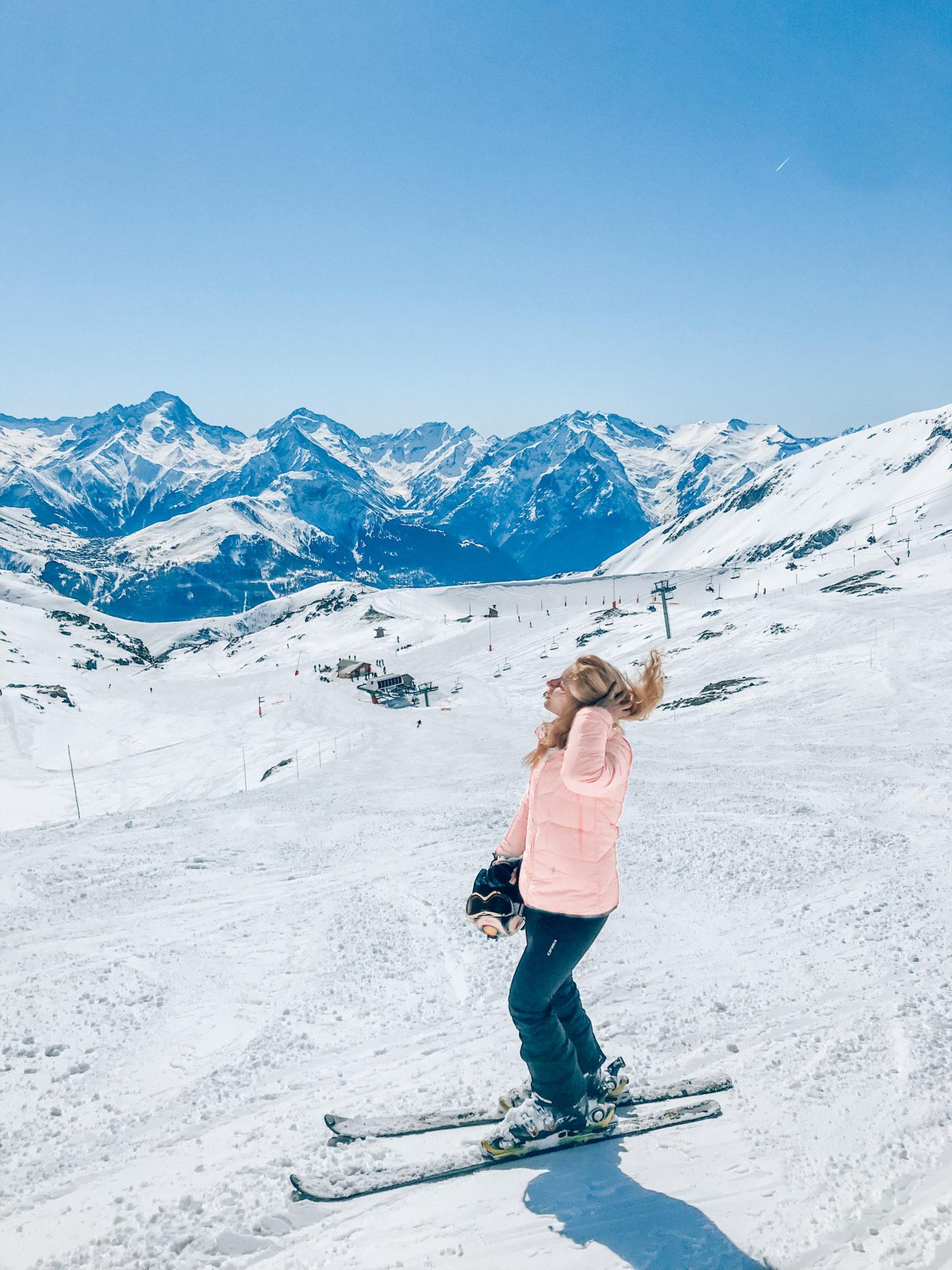Ski in the French Alps